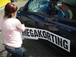 Goedkope stickers op je auto