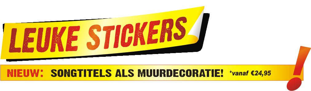 Logo Leuke Stickers